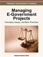 Identifying and Managing Risks Inherent in e-Government Project Implementation: Requirements for new Tools and Methodologies