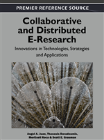 E-Research Collaboration of International Scope in Social and Political Sciences: Scale and Complexity Linkage with the Requirement of Physical Encounters