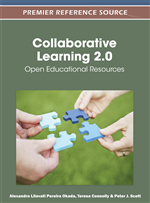 Knowledge Sharing and Collaboration as Indicators of Learning in OER Communities