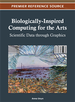 Biologically-Inspired Computing for the Arts: Scientific Data through Graphics