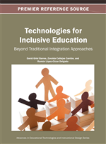 New Communication Technologies for Inclusive Education in and outside the Classroom