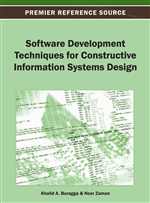 Software Development Techniques for Constructive Information Systems