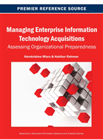 Managing Enterprise Information Technology Acquisitions: Assessing Organizational Preparedness