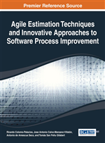 Agile Estimation Techniques and Innovative Approaches to Software Process Improvement