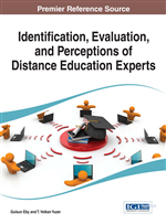 Identification, Evaluation, and Perceptions of Distance Education Experts