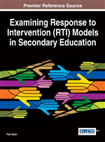 Response to Intervention at the Secondary Education Level: An Overview