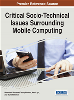 Critical Socio-Technical Issues Surrounding Mobile Computing