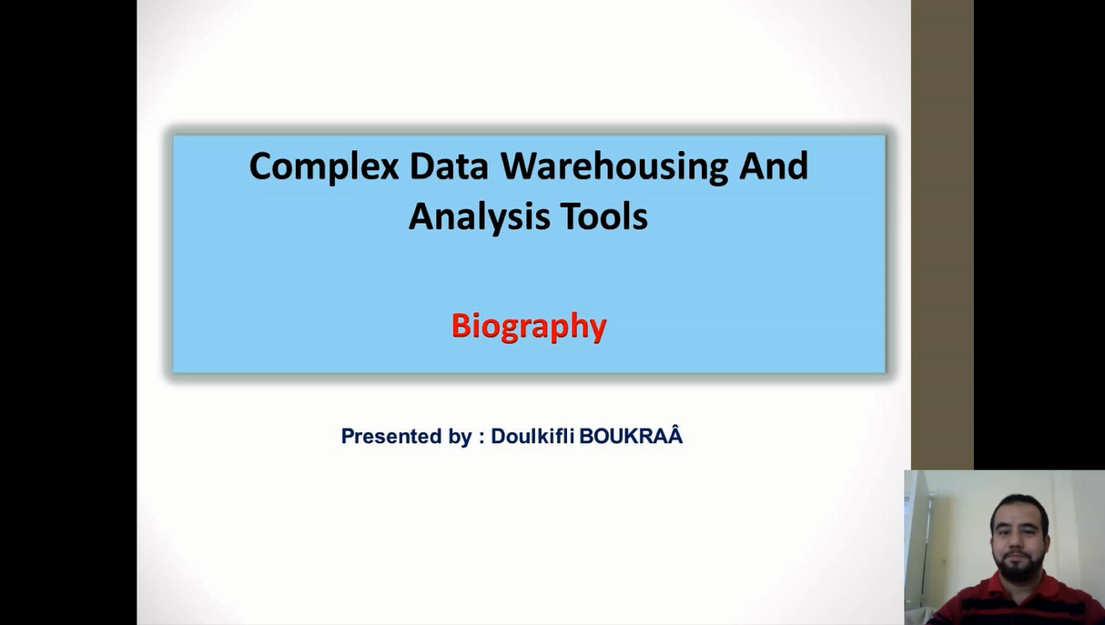 Complex Data Warehousing and Analysis Tools