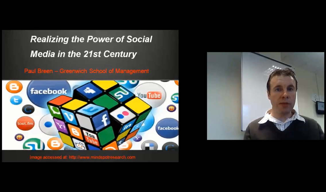 Realizing the Power of Social Media in the 21st Century