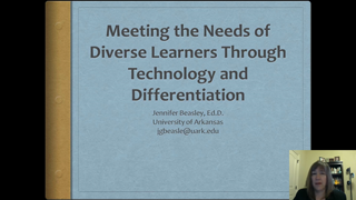 Technology Integration and Differentiation for Meeting the Needs of Diverse Learners