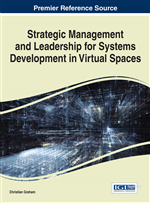 Strategic Management and Leadership for Systems Development in Virtual Spaces