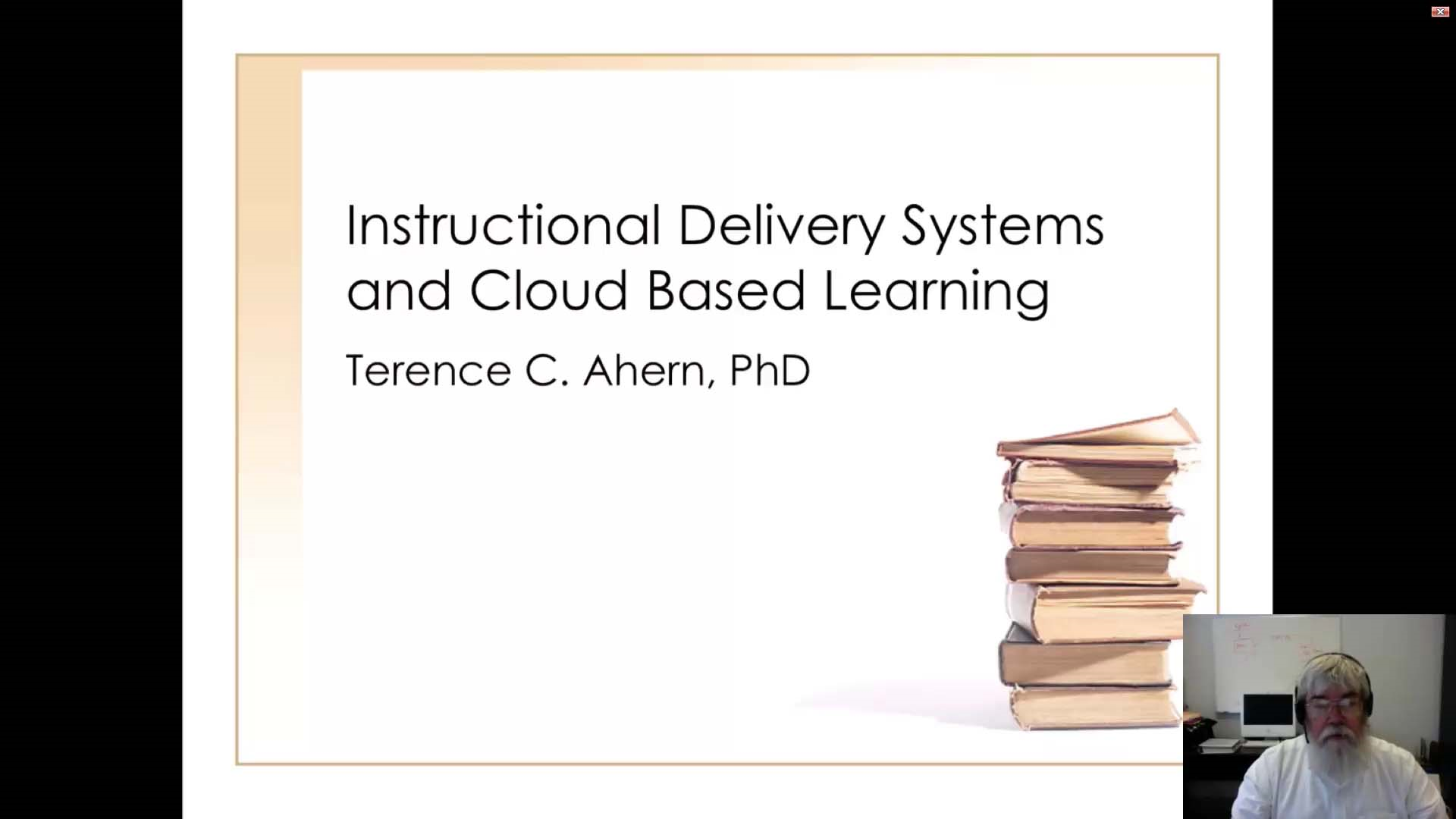 Instructional Delivery Systems and the Era of Cloud-Based Learning