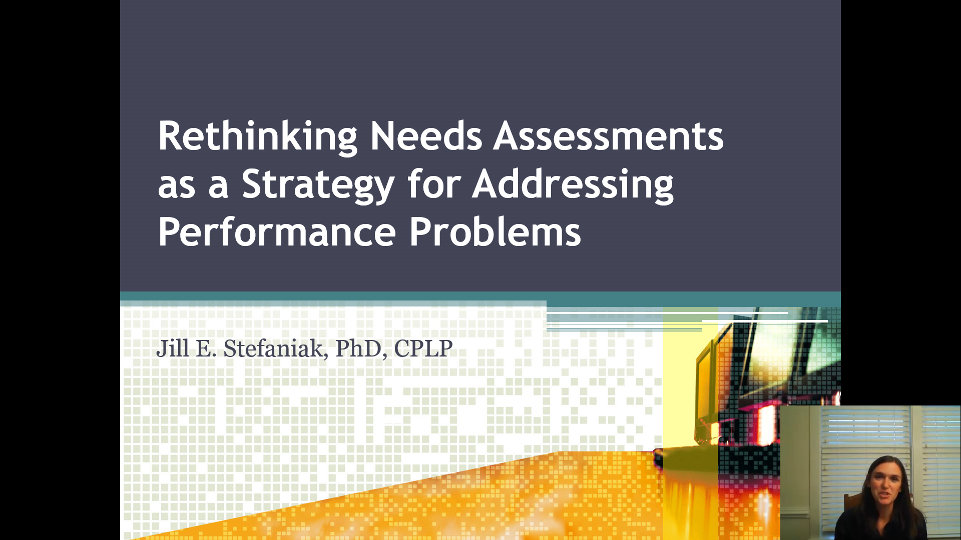 Rethinking Needs Assessments as a Strategy for Addressing Performance Problems