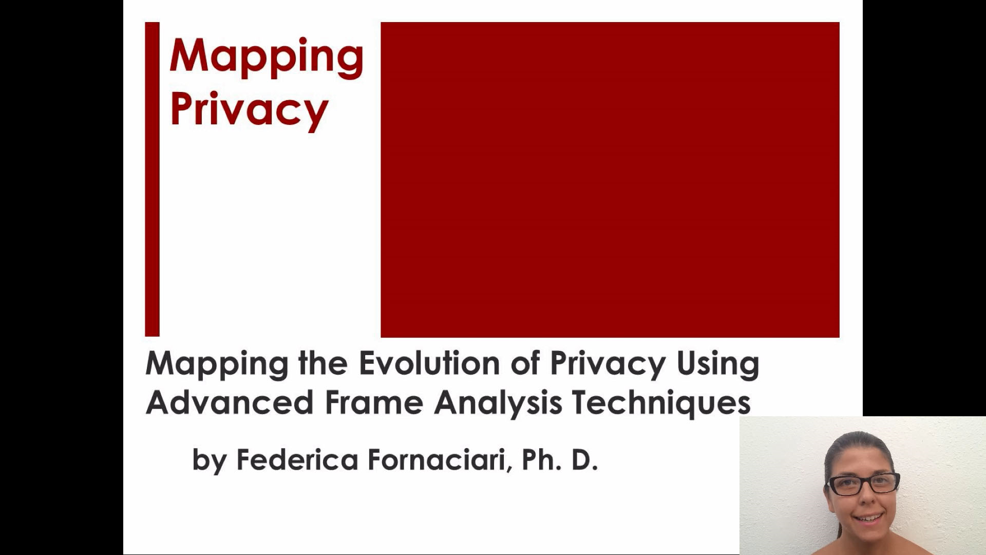 Mapping the Evolution of Privacy Using Advanced Frame Analysis Techniques