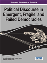 Cover of On The Threshold of Democratic Fragility: A Macrospeech Act Explication of Media Representation of the Nigerian 2011 Post-Presidential Election News Reports