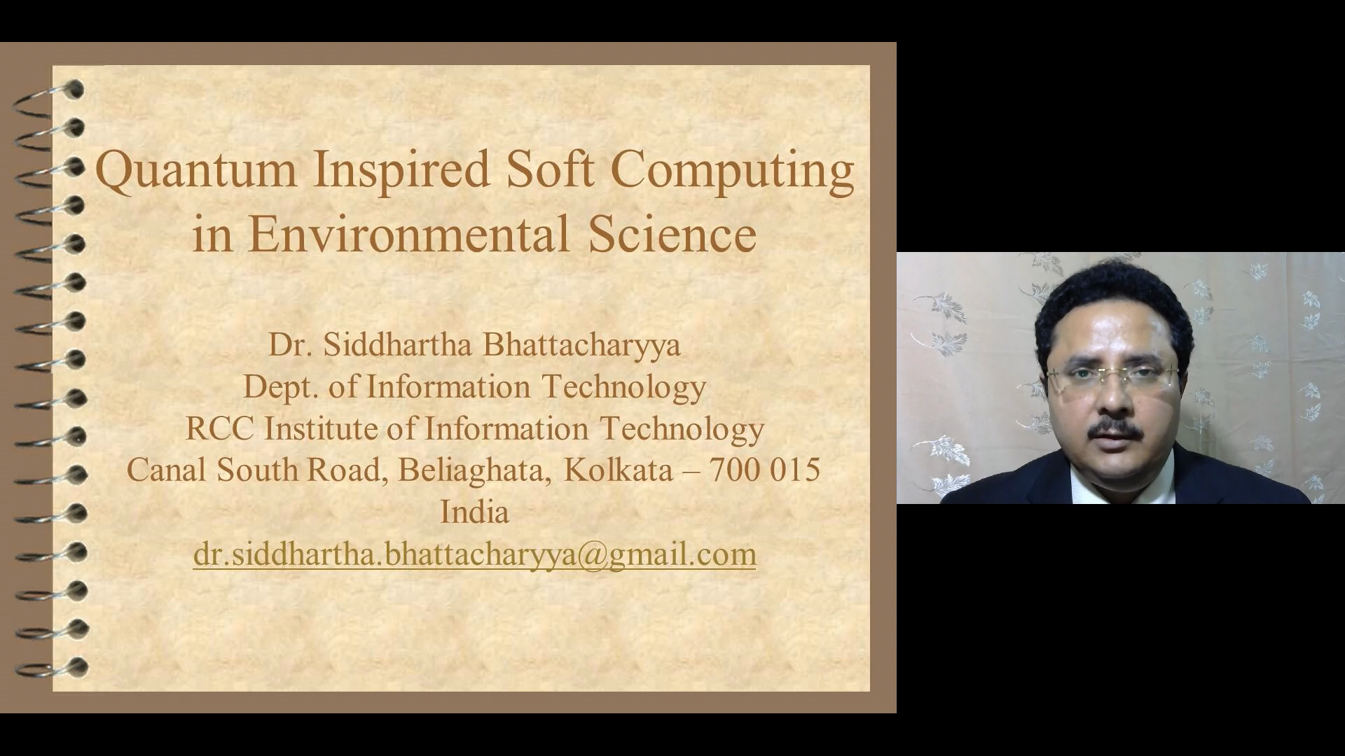 Quantum-Inspired Soft Computing in Environmental Science