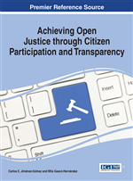 Achieving Open Justice through Citizen Participation and Transparency