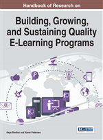 Handbook of Research on Building, Growing, and Sustaining Quality E-Learning Programs