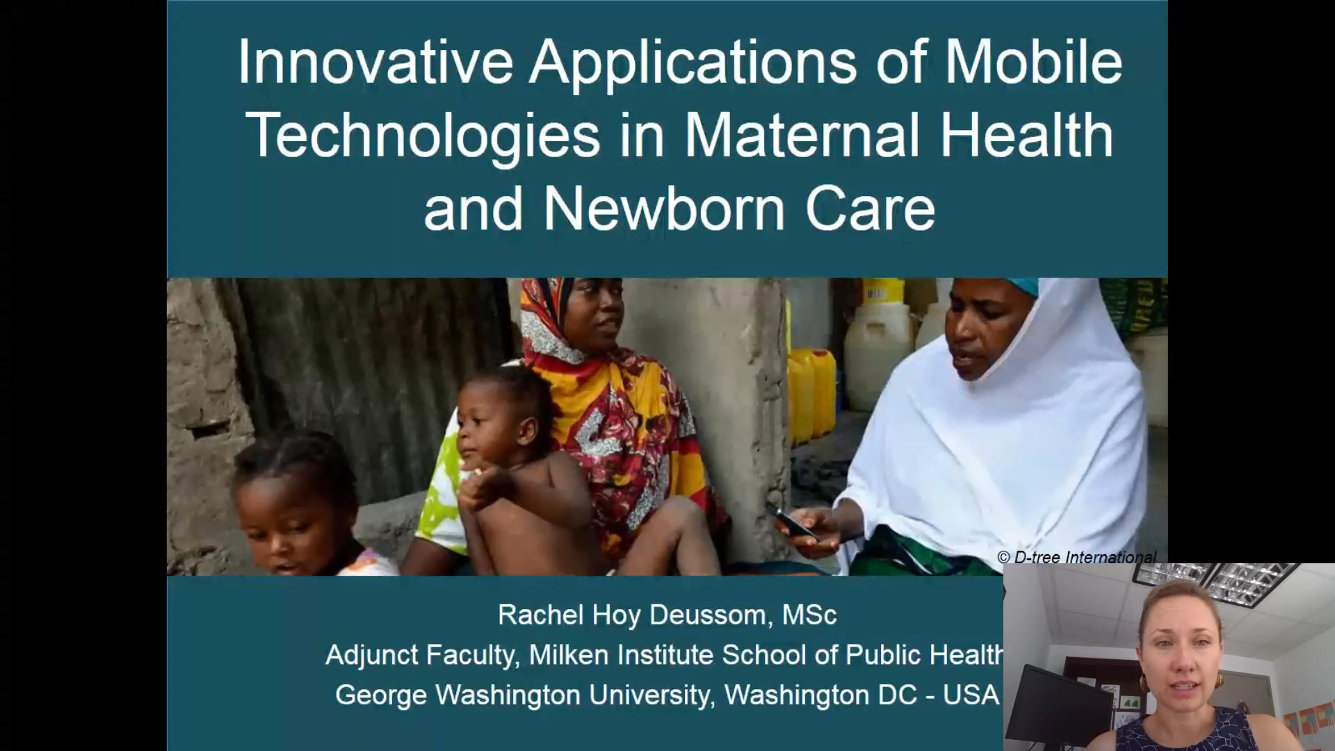 Innovative Applications of Mobile Technologies in Maternal Health and Newborn Care
