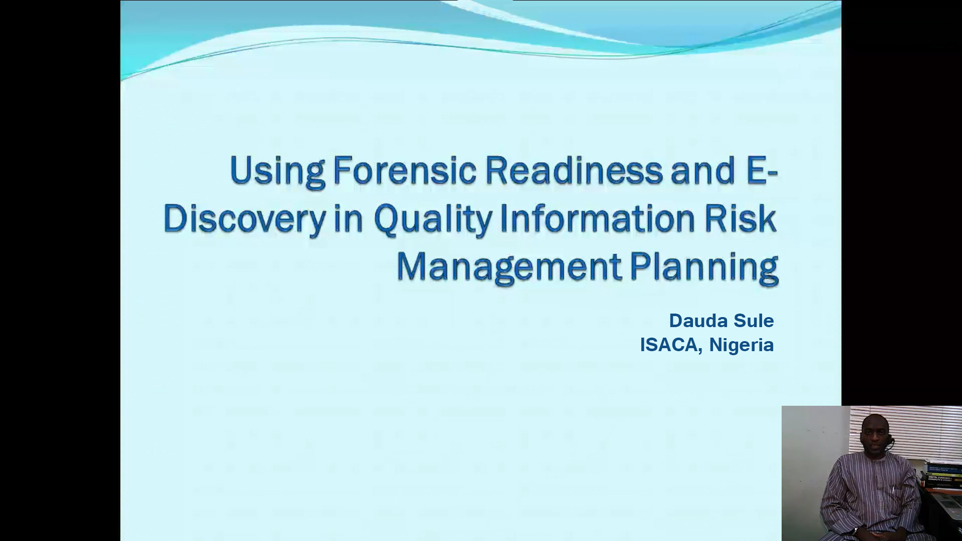 Using Forensic Readiness and E-Discovery in Quality Information Risk Management Planning