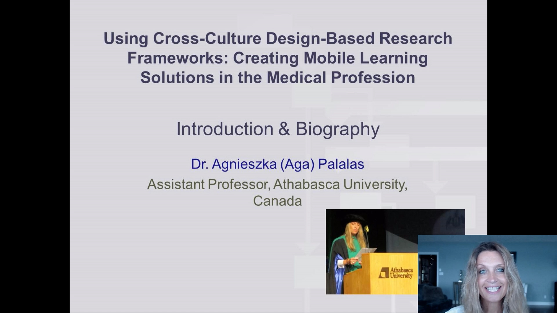 Using Cross-Culture Design-Based Research Frameworks: Creating Mobile Learning Solutions in the Medical Profession