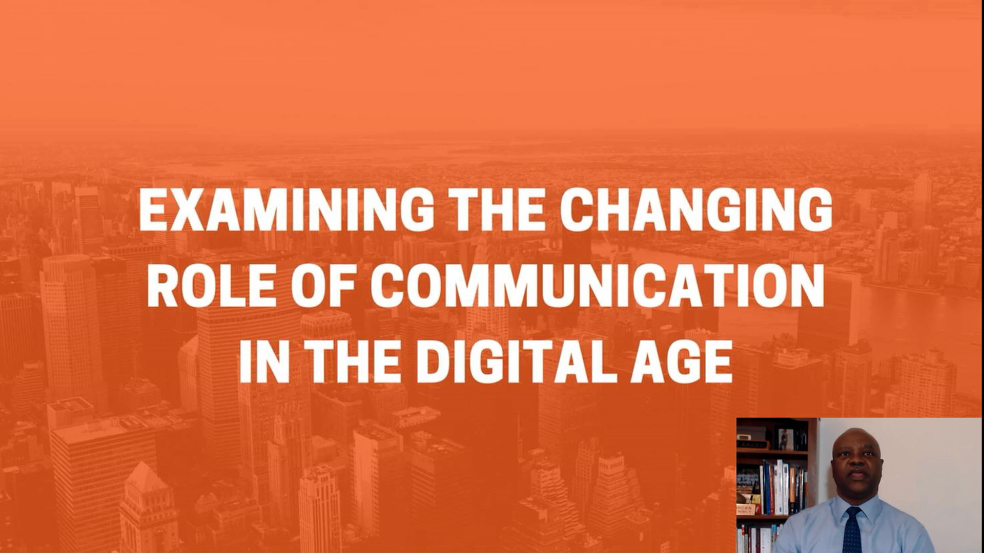 Examining the Changing Role of Communication in the Digital Age