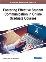 Fostering Effective Student Communication in Online Graduate Courses