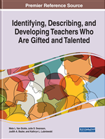 Identifying, Describing, and Developing Teachers Who Are Gifted and Talented