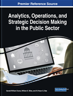 Analytics, Operations, and Strategic Decision Making in the Public Sector