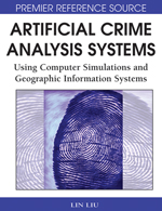 Simulating Crime Against Properties Using Swarm Intelligence and Social Networks