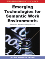 Automatic Acquisition of Semantics from Text for Semantic Work Environments