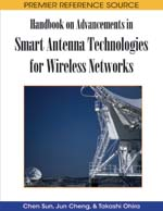 Wideband Smart Antenna Avoiding Tapped-Delay Lines and Filters