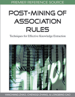 Continuous Post-Mining of Association Rules in a Data Stream Management System