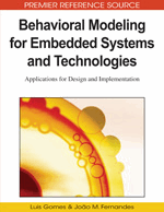 Behavioral Modeling For Embedded Systems And Technologies Applications For Design And Implementation 9781605667508 Computer Science It Books Igi Global