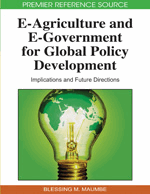 E-agriculture and E-government for Global Policy Development: Implications and Future Directions