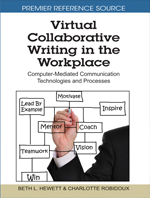 Facilitating Virtual Collaborative Writing through Informed Leadership