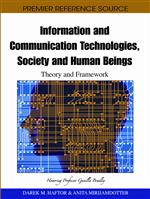 Information and Communication Technologies, Society and Human Beings: Theory and Framework (Festschrift in honor of Gunilla Bradley)
