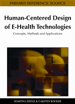 E-Health for Older Adults: Assessing and Evaluating User Centered Design with Subjective Methods