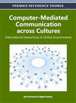 Social Information Processing Theory (SIPT): A Cultural Perspective for International Online Communication Environments