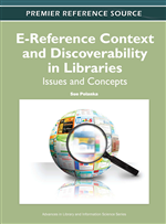 Undergraduate Information Seeking Behavior, E-Reference and Information Literacy in the Social Sciences