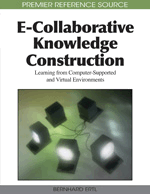 E-Collaborative Knowledge Construction in Chat Environments