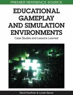 Educational Games: Moving from Theory to Practice