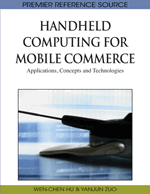 Handheld Computing for Mobile Commerce: Applications, Concepts and Technologies