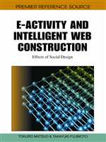 E-Activity and Intelligent Web Construction: Effects of Social Design