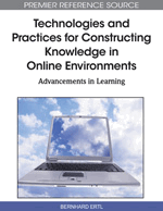 E-Collaboration between People and Technological Boundary Objects: A New Learning Partnership in Knowledge Construction