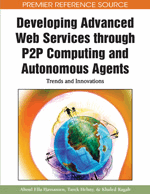 Developing Advanced Web Services through P2P Computing and Autonomous Agents: Trends and Innovations