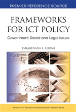 National Information and Communication Technology Policy Process in Developing Countries