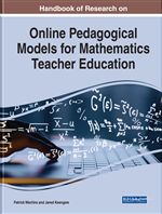 Handbook of Research on Online Pedagogical Models for Mathematics Teacher Education