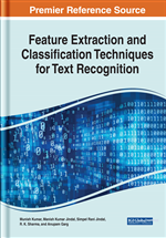 Feature Extraction and Classification Techniques for Text Recognition