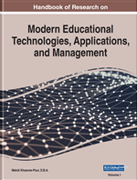 Encyclopedia of Modern Educational Technologies, Applications, and Management